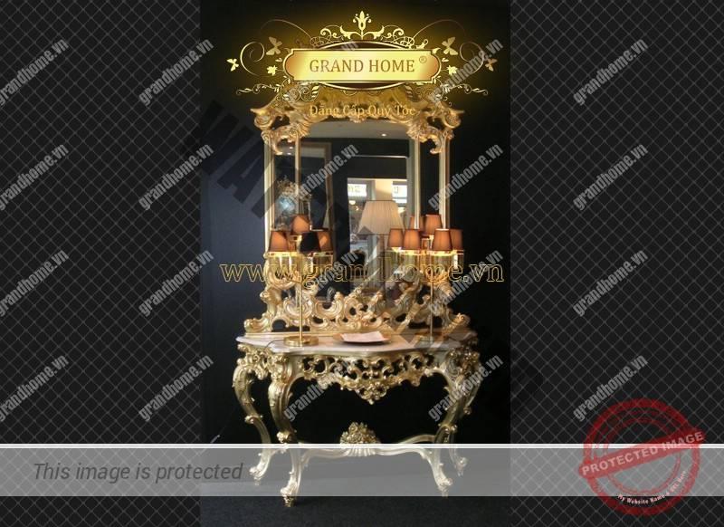 Console trang trí cổ điển Châu Âu cao cấp
