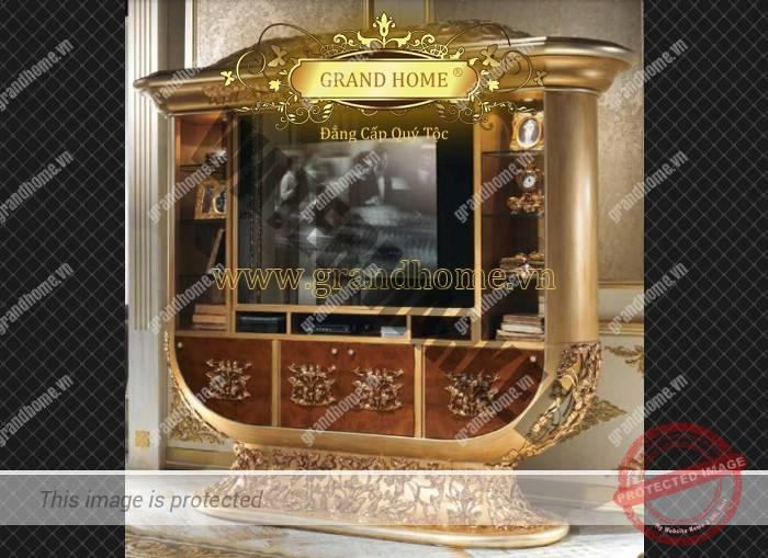 Giới thiệu về dát vàng nội thất