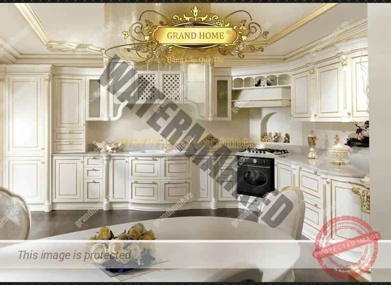 Tủ bếp cổ điển