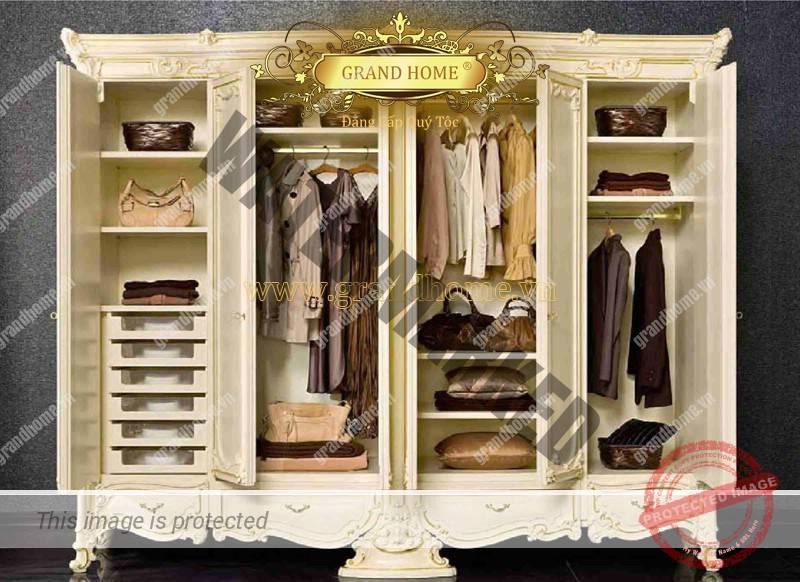 Tủ quần áo cổ điển
